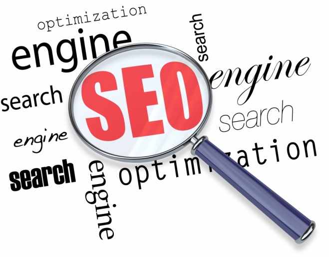 Search Engine Optimization - Magnifying Glass